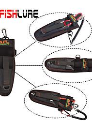 Afishlure Fishing Tool Bag Portable Lure Bag Multifunctional Pocket Put Fish Grips and Fishing Pliers Black