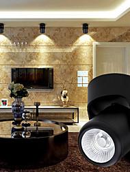 10W 1000lm Surface Mount LED Downlight COB LED Track Light Ceiling Spotlights AC85-265V