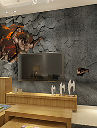 Животные / Мультипликация / фантазия / 3D Наклейки 3D наклейки,Canvas S M L XL XXL 3XL