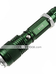 U'King ZQ-X913 LED Flashlights/Torch LED 1200lm Lumens 5 Mode Cree XM-L2 1 x 18650 Battery Adjustable Focus Nonslip grip Zoomable Easy