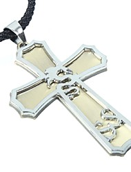 Men's Fashion Rope Vintage / Cute / Party / Work / Casual Alloy / Others Braided/Cord  CrossNecklaces