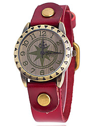 Woman's  Star Pattern Large Dial Casual Watch Cool Watches Unique Watches