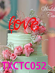 Cake Toppers With Love 3 Colors