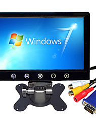 9 pulgadas de coches Monitor TFT-LCD retrovisor full hd.