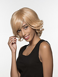 Charming Excellent Long wavy Remy Human Hair Hand Tied -Top Woman's Wigs