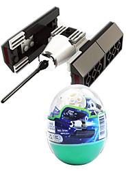 Satellit 6704, dr. Montage Marke Bausteine Raum lego verdreht Spielzeug Ei Kinder