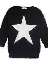 Girl's Sweater & Cardigan,Acrylic Winter Black