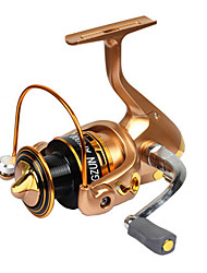 Molinetes Rotativos 5.2:1 9 Rolamentos Trocável Pesca de Mar / Rotação / Pesca de Água Doce / Pesca Geral-AF5000 #
