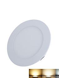 6W Luminária de Painel 30pcs SMD 2835 500-550lm lm Branco Quente / Branco Frio / Branco Natural Decorativa DC 12 / DC 24 V 1 pç