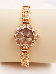 Bracelet Watch Simulated Diamond Watch Imitation Diamond Quartz Band Luxury