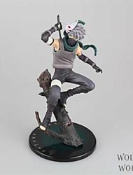 Naruto Hatake Kakashi PVC One Size Las figuras de acción del anime Juegos de construcción muñeca de juguete