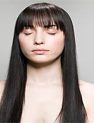 """3pcs / lot 8 """"-34"""" reines brasilianisches gerades Haar weben Bündel natürliche schwarze 1b # der Menschenhaarverlängerungen verwirren frei"""