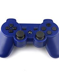 rechargeable contrôleur USB sans fil pour PlayStation 3/ps3 (bleu)
