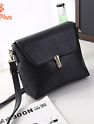 M.Plus® Women's Fashion PU Leather Messenger Shoulder Bag