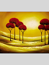 Landscape Canvas Material Oil Paintings with Stretched Frame Ready To Hang Size 90*60CM