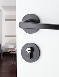 Dorlink® Contemporary Aluminum Black Keyed Entry Door Lock