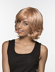 Stunning  Wavy Woman's  Capless Bob Remy Hand Tied Top wig