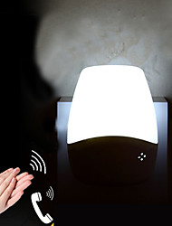 capteur blanc chaud créatif relatif à la lumière bébé de nuit de sommeil (couleurs assorties)
