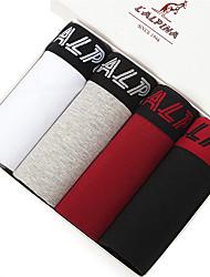 L'ALPINA Hommes Coton Boxer Short 4 / boîte - 21125
