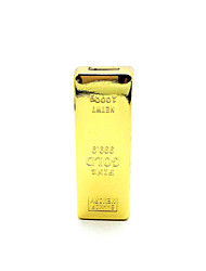 KS-999 Gold Brick Style Portable USB Charging Electronic Lighter