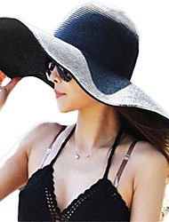 Women Straw Sun Hat,Vintage / Casual Spring / Summer / Fall