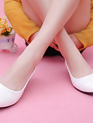 Women's Shoes Pearlite Layer Slip On Low Dunk Pump Flat Heel Comfort / Pointed Toe Flats Outdoor / Casual