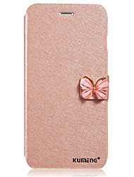 Fashion Butterfly Built-in Card Slot Silk Pattern Stand Flip Leather Phone Case For Samsung Galaxy A310/A510/A710