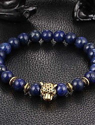 New Arrival Nature Stone Leopard Bracelet Strand Bracelets Daily / Casual 1pc Christmas Gifts