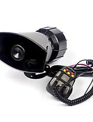 12v strident 5 sons voiture moto camion système de haut-parleur pa