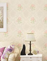 Tapete Blumen Tapete Zeitgenössisch Wandverkleidung,Nicht-gewebtes Papier