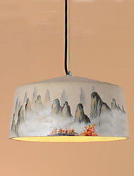 The Cafe Restaurant Bar Counter Drawing Cement Droplight E