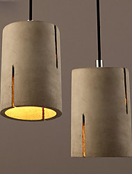 Modern Nordic Cement Pendant Lights Restaurant Bar Cafe   Art Home Hanging Lamps