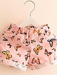 New Arrival Popular Fashion Short Pant Designer 2016 Floral Pattern Toddler Harem Pant Trousers