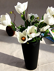 A Branch Silk Magnolia Artificial Flowers Multicolor Optional 1pc/set