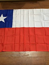 Chilean Flag 90 * 150Cm Our Flags Are Sold World To Sample Custom-Quality Polyester Celebration Decoration