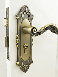 Traditional Antique Brass Zinc Alloy Door Locks