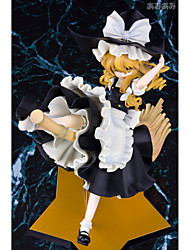 TouHou Project Marisa Kirisame PVC 25cm Anime Action Figures Model Toys Doll Toy 1 Pc