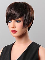 perruque de cheveux humains cheveux courts perruque 16 couleurs au choix