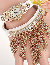 Women's Fashion Tassel Oval Diamond Watches Cool Watches Unique Watches