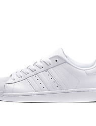 Adidas Originals Superstar Mens Running Shoes White Leather Sneakers Shoes