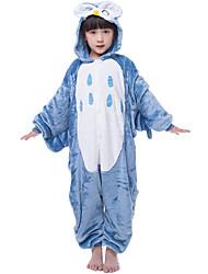 nuevos niños de franela cosplay® búho Kigurumi pijama (sin zapatos)