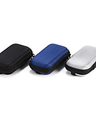 1Pc SD Hold Case Storage Carrying Hard Fiber Bag Box for Earphone Headphone Earbuds 10.5*5.5*2cm Black Gray Blue