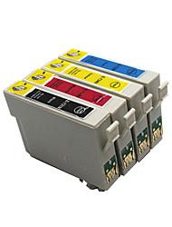 bloom®t0921n-t0924n cartouche d'encre compatible pour epson stylus t26 / t27 / tx106 / tx109 / tx117 pleine encre (4 couleur de 1 jeu)