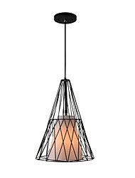 40W Pendant Light ,  Country Painting Feature for Mini Style Metal Dining Room / Study Room/Office / Game Room / Garage