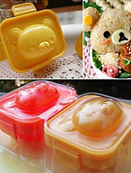 Teddy Bear Shaped Sushi Rice Ball Mould Microwavable Boiled DIY Bento Tool