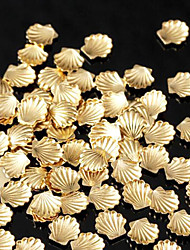 Lovely Mental 5mm Gold Silver Nail Jewelry (1000PCS)