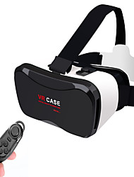 "VR CASE 5PLUS VR 3D Glasses +Smart Bluetooth Wireless Mouse/Remote Control Gamepad for 4 ~ 6.3"" Mobile Phone"