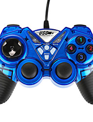 USB-908 Double Shock Controller Blue