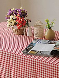Plaid Pattern Table Cloth Fashion Hotsale High-grade Cotton Linen Square Coffee Table Cloth Cover Towel