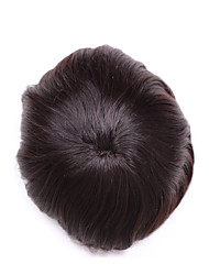 """6 """"toupee de cheveux humains perruque 6"""" * 8 """"morceaux de cheveux mono base pour la toupee des hommes"""